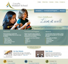 Corvallis Waldorf School website