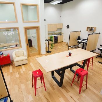 the Foundry coworking space in Corvallis, Oregon