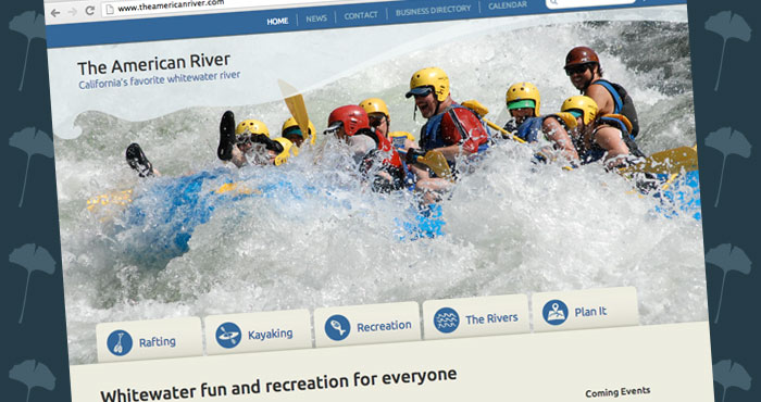 The American River website