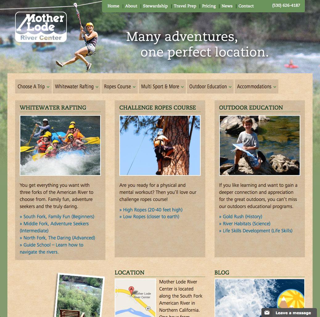 Mother Lode River Center website